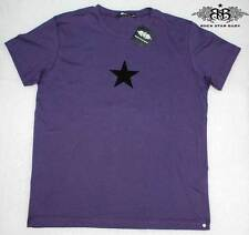RSB estrella de rock bebé manga corta señores t-shirt ha & Skull lila talla L nuevo 09-56/b19