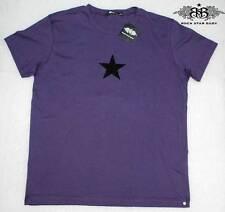 RSB ROCK STAR BABY KURZARM HERREN T-SHIRT HAT&SKULL LILA Gr.L NEU 09-56 /B19