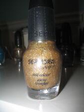 "Sephora OPI Nail Polish Gold ""LOOKS LIKE RAIN DEAR"" HOLOGRAPHIC TOPCOAT SEALED"