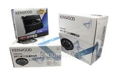 "Kenwood P-W1220 KAC-5206 2-Channel Amplifier+ 2X KFC-W112S 12"" Subwoofers"