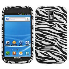 For T-Mobile Samsung Galaxy S II 2 T989 TPU CANDY Flexi Skin Case Cover Zebra