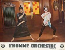 LOUIS DE FUNES L'HOMME ORCHESTRE 1970  PHOTO D'EXPLOITATION ORIGINALE N°8