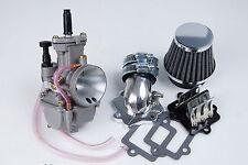 Power intake  24mm PWK Carburetor for APEX SMC Polaris 90cc 2T ATV  quads US