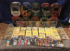 700 Pokemon TCG Card Lot Bulk Ultra Rares Commons Holo Sun Moon XY BW FREE TINS