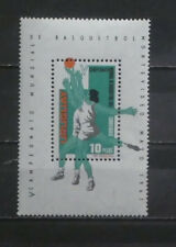 TIMBRES URUGUAY** : bloc-feuillet n° Y/T 10 - 1967 - Basketball (A079)