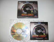Mortal Kombat Sega Mega CD PAL MegaCD RARE MINT condition