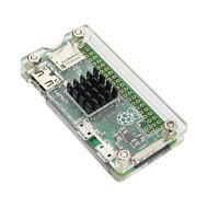 With heatsink Transparent Acrylic Protector Cover Case for Raspberry Pi Zero