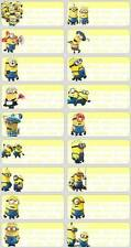 24 MINION Personalised Name Sticker,Label,TaG