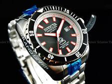 Invicta Men 48mm MidNight Black Grand Diver Automatic 24J Nh35 SS Bracelet Watch
