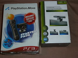 SONY PLAYSTATION 4 PS4 OFFICIAL MOVE v1 MOTION CONTROLLER BUNDLE Lot PS3 Starter