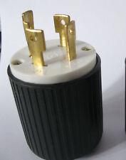 L14-30 Locking Male Plug - 30Amp, 125/250Volt -  UL Approved