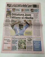 GAZZETTA DELLO SPORT 30 GIUGNO 2003 PAOLO BETTINI CAMPIONE ITALIANO CICLISMO