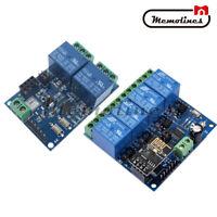 5V/12V ESP8266 ESP-01 2/4- Channel WiFi Relay Module For IOT Smart Home APP