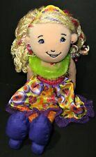"Manhattan Toys Groovy Girls Lakinzie Doll Plush Stuffed 13"" Girl Toy"