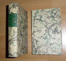 2 Bde. 1744 Neues Europäisches Historisches Reise-Lexicon – Reprint Edle Ausgabe