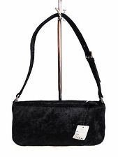 New Evening Bag Unbranded Black Fabric Man Made Material Made In Italy