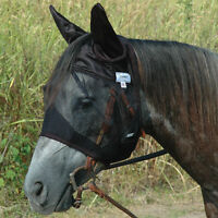 CASHEL FLY MASK CRUSADER HORSE QUIET RIDE STANDARD COVERS EARS RIDING FOR TRAIL