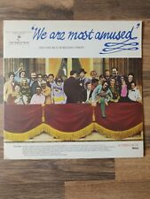 New listing We Are Most Amused The Very Best Of British Comedy Double Album Ronco RTD 2067