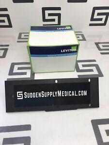 Leviton 80716-W 002 QTY: 25 2G Duplex White 2 Gang