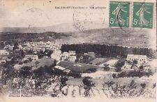 MALEMORT vue générale cliché pichegud timbrée 1918