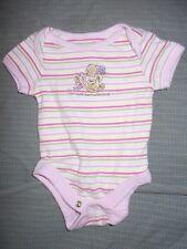 Winnie the Pooh & Piglet Girls NB Snap Bottom