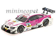 MINICHAMPS 100-122215 BMW M3 DTM BMW TEAM RBM MAMPAEY #15 1/18 ANDY PRIAULX