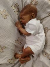 AA, Biracial, Ethnic Preemie Reborn Baby Doll-Rosebud Sculpt by Cindy Musgrove