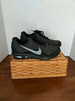 New Black Nike Air Max Dynasty 2 852430-003 Anthracite/Mtlc Cool Grey  Size 7.5