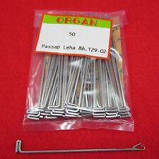 50 new knitting machine needles for type passap pfaff e6000 duomatic DM80
