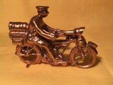 Britains copia Moto Rider (mi Ref Gris 393) Metal, máquina pistola Corps,