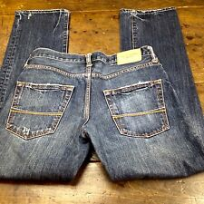 Abercrombie & Fitch Button Fly SLIM STRAIGHT Leg Mens Jeans Measures 30 x 30