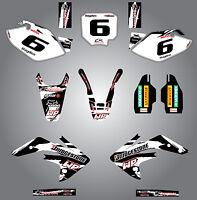 Honda CRF 150 R - 2007 / 2015 Custom graphics kit Safari Style decals / stickers