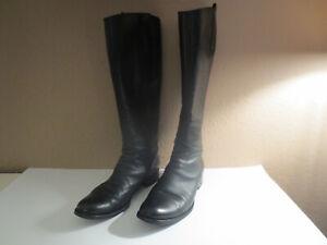 Klassische Stiefel von GABOR Gr. 37,5 schwarz Leder Echtleder (NP 149 Euro)