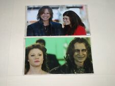 ONCE UPON A TIME Robert Carlyle Emilie de Ravin RUMPLESTILTSKIN BELLE MR. GOLD