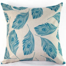 Linen Blend Patternless Decorative Cushion Covers