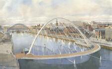 Tom Macdonald The Millennium Bridge Mounted Print