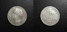 Napoléon III - 50 centimes tête laurée 1864 A, Paris - F.188/2