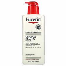 (2-PACK)Eucerin Original Healing Lotion 16 9 fl oz 500 ml Fragrance-Free,