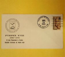 1952 1972 Puripex Xvii 20 yrs Sociedad Filatelica Puerto Rico Philatelic Society