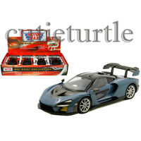 Motormax McLaren Senna 1:24 Display Diecast Model Toy Car 79355 D