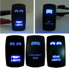 Universal 5PIn 3Pcs Front&Rear&LED Light Backlit Switch For UTV POLARIS RZR 4900