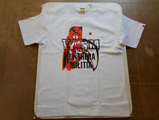 Authentic a Bathing Ape BAPE Tiger Shark Tee T Shirt White XL RARE