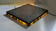 "16""x13.75"" Granite Vibration Control LED Light Isolation Platform"