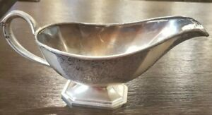 EPNS (Nickel/Silver Plated) Mulholland 1614 A Gravy Boat-Early 1900's(1912-1934)