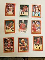 MICHAEL JORDAN VINTAGE 25 count lot Michael Jordan cards + North Carolina Rookie