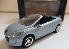 """Nouvelle 308 CC Peugeot Bleu Ciel 1/64 """"3 Inches"""" Diecast NOREV Produit NEUF !!"""