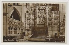 Cornwall postcard - The Reredos, Truro Cathedral - RP (A550)