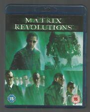 THE MATRIX REVOLUTIONS - Keanu Reeves / Laurence Fishburne - UK BLU-RAY - vgc