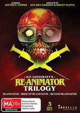 RE-ANIMATOR / BRIDE OF RE-ANIMATOR / BEYOND RE-ANIMATOR Trilogy DVD
