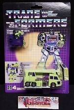 Transformers 1985 G1 - Hook with Specs (Constructicon, Devastator) Carded K.O.